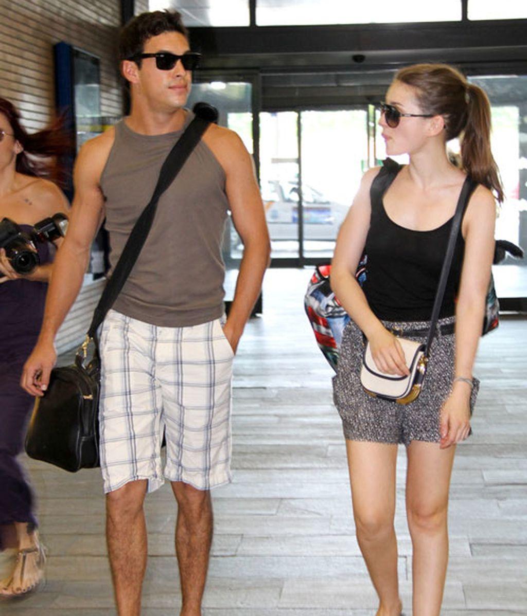 Mario Casas y María Valverde, viaje a Sevilla