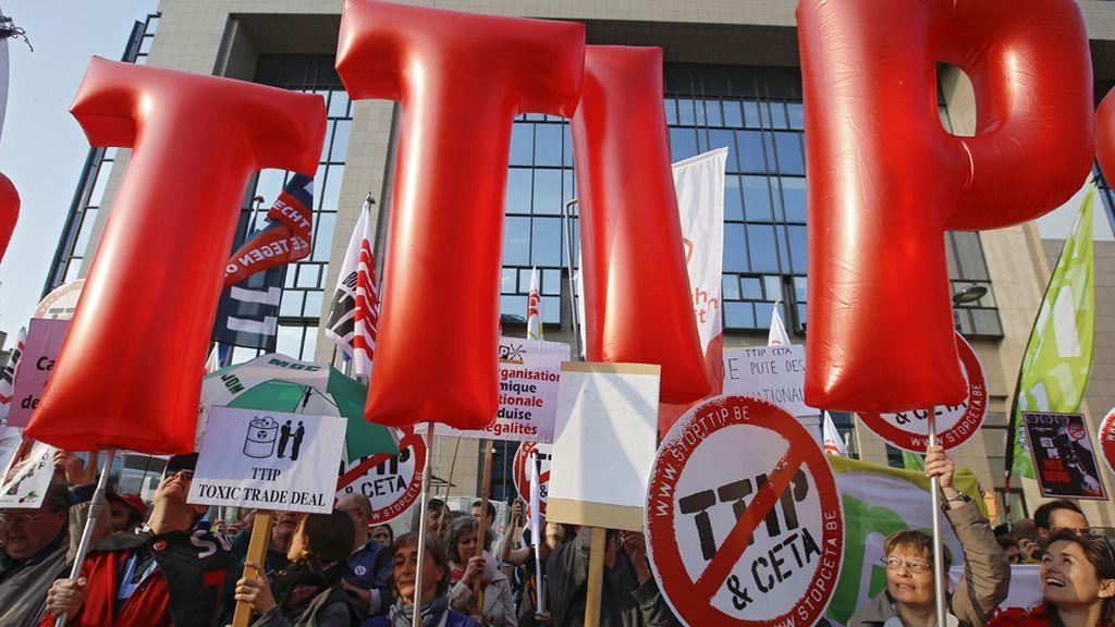 La sociedad civil europea, en contra del TTIP