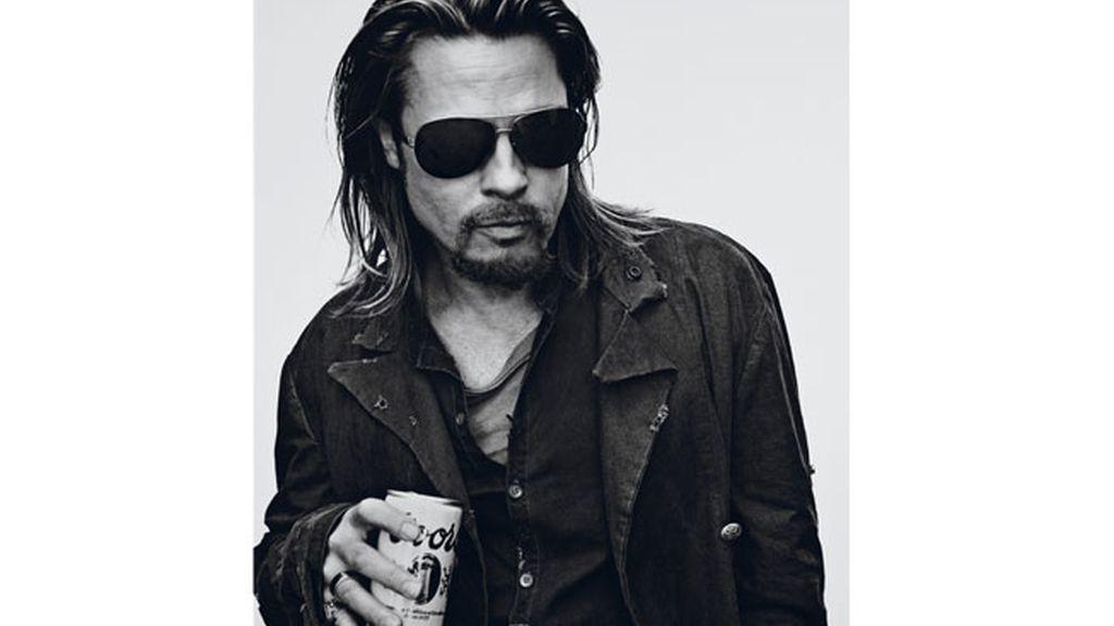 Brad Pitt, de lo más camaleónico
