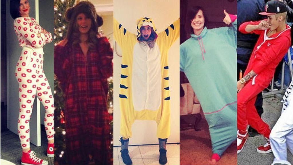Los pijamas más de moda salen a la calle