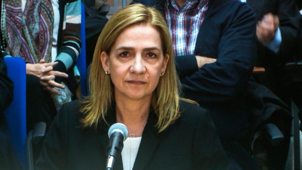 Infanta Cristina declara en el juicio del caso Nóos