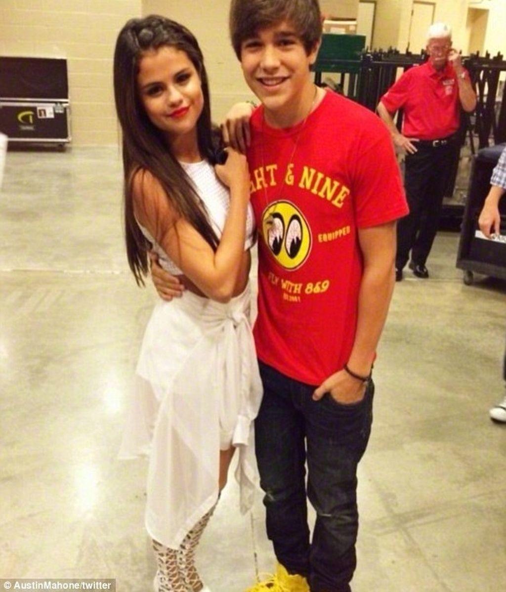 Selena Gomez y Austin Mahone