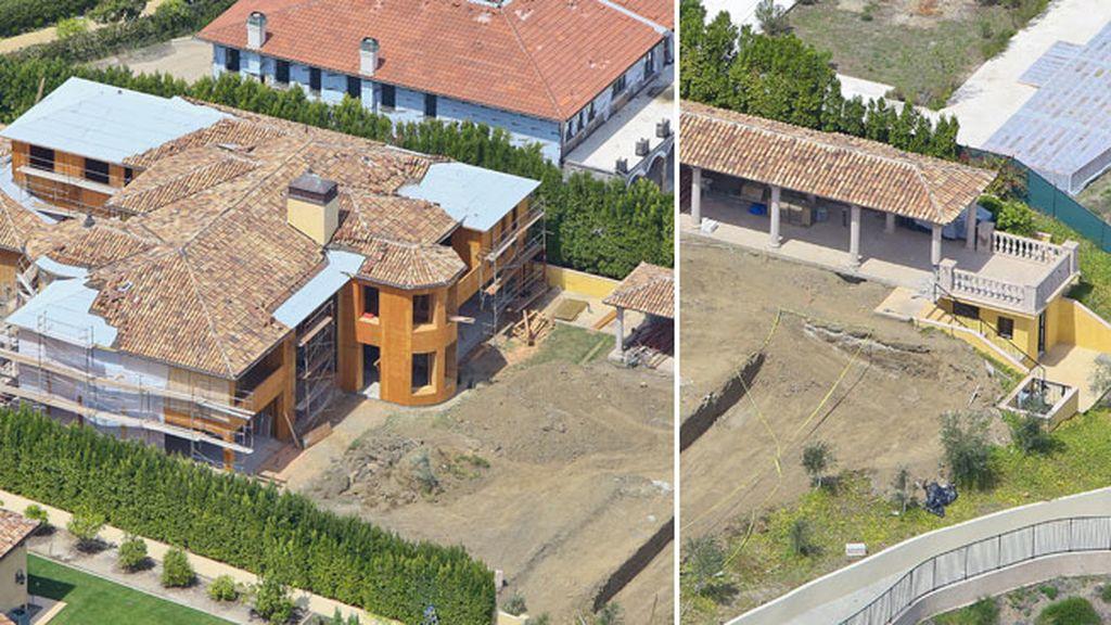 La mansión cuenta con piscinas, gimnasio y pista de baloncesto