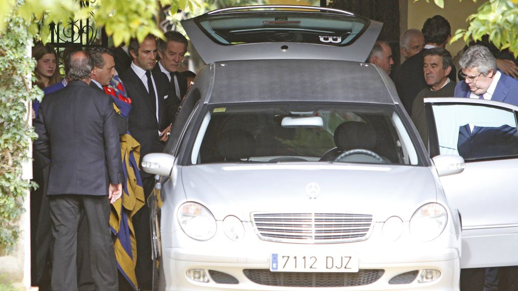 Último adiós a la duquesa de Alba