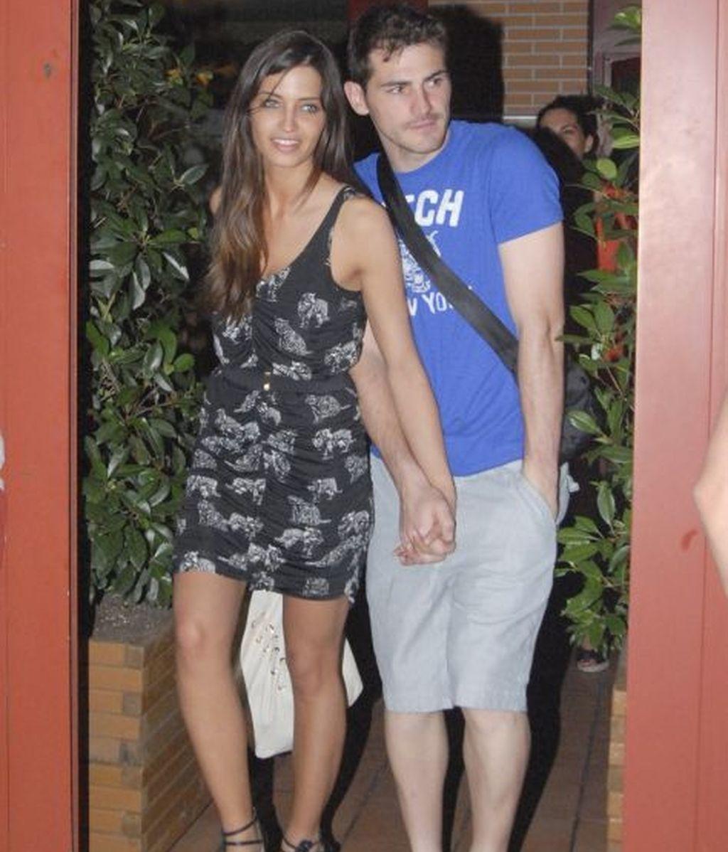 Iker y Sara se relajan en Madrid