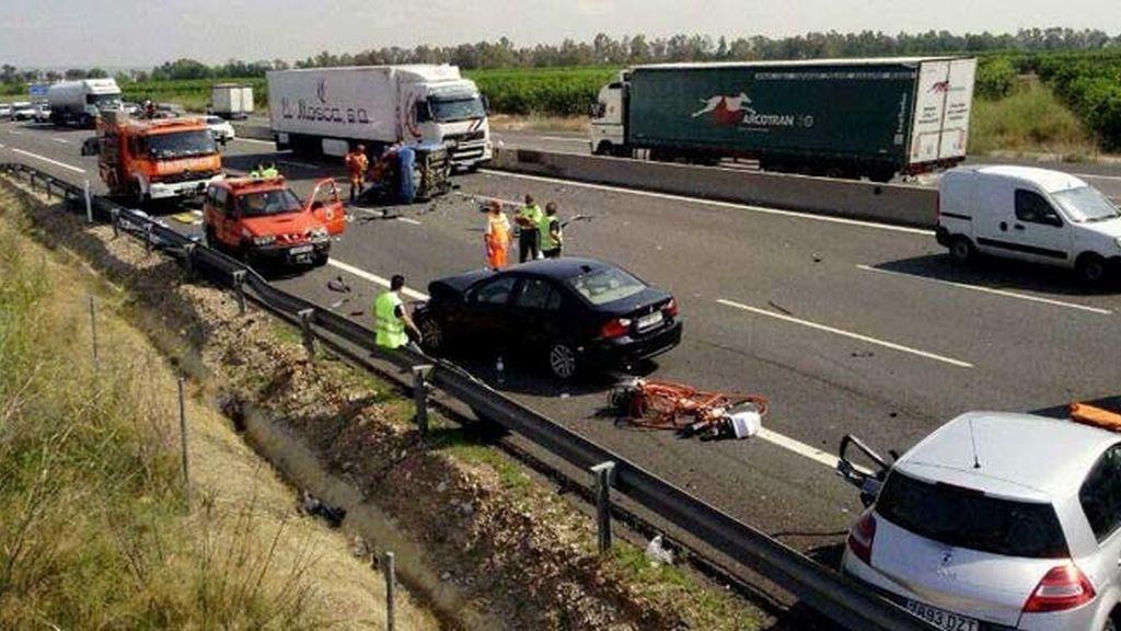 Fallecen cuatro personas  en las carreteras españolas durante el fin de semana