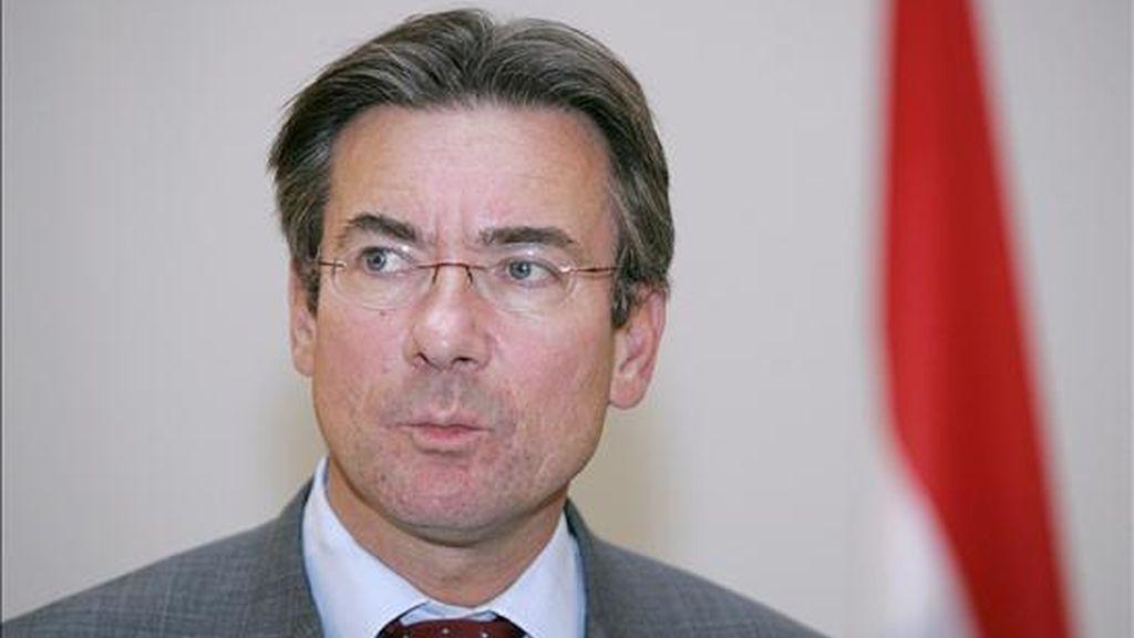 En la imagen, el canciller de Holanda, Maxime Jacques Marcel Verhagen. EFE/Archivo