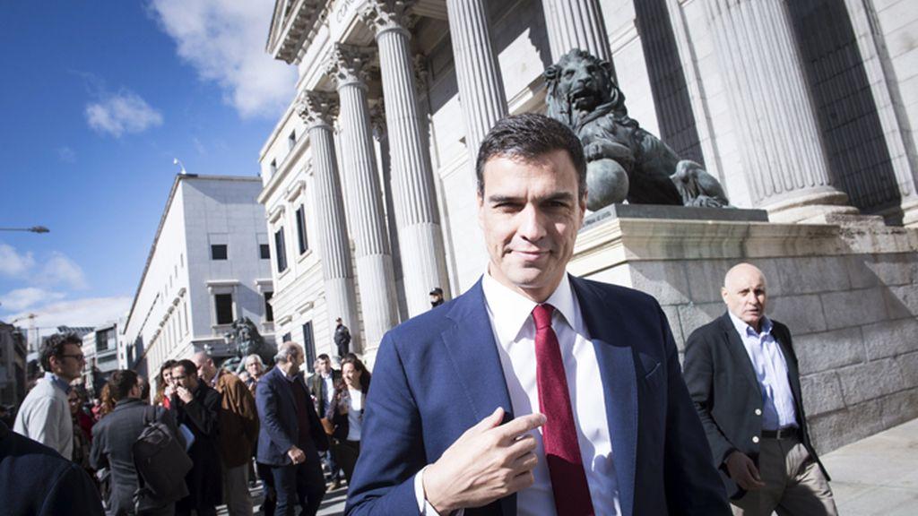 Pedro Sánchez presenta la propuesta del PSOE de reforma constitucional