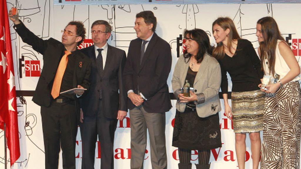 La Princesa Letizia durante los premios Barco de Vapor