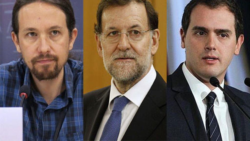 Rajoy recibe a Rivera e Iglesias este viernes para hablar de Cataluña