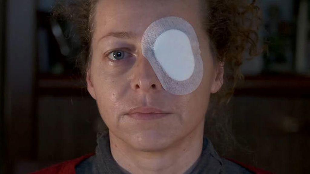 Ester Quintana ha perdido la visión de un ojo