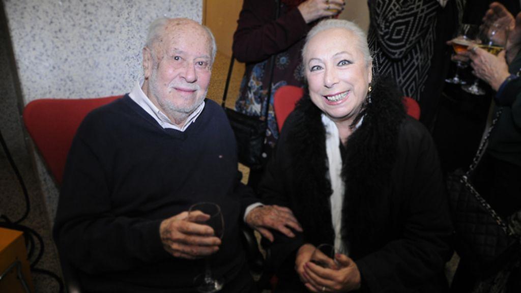 Jaime de Armiñán y la bailaora Cristina Hoyos