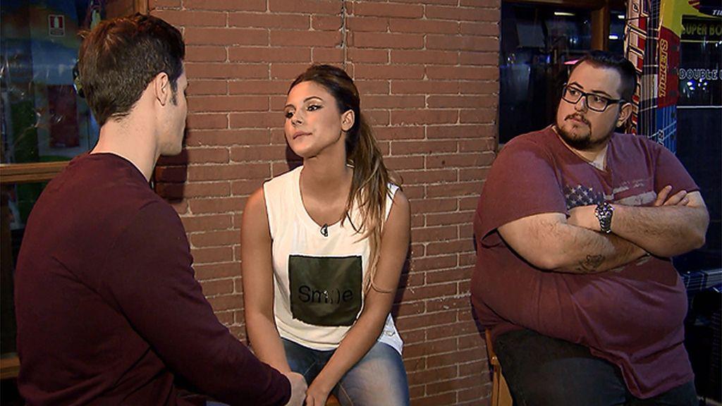 Alba sigue sin acostumbrarse a la presencia del primo de Sergio