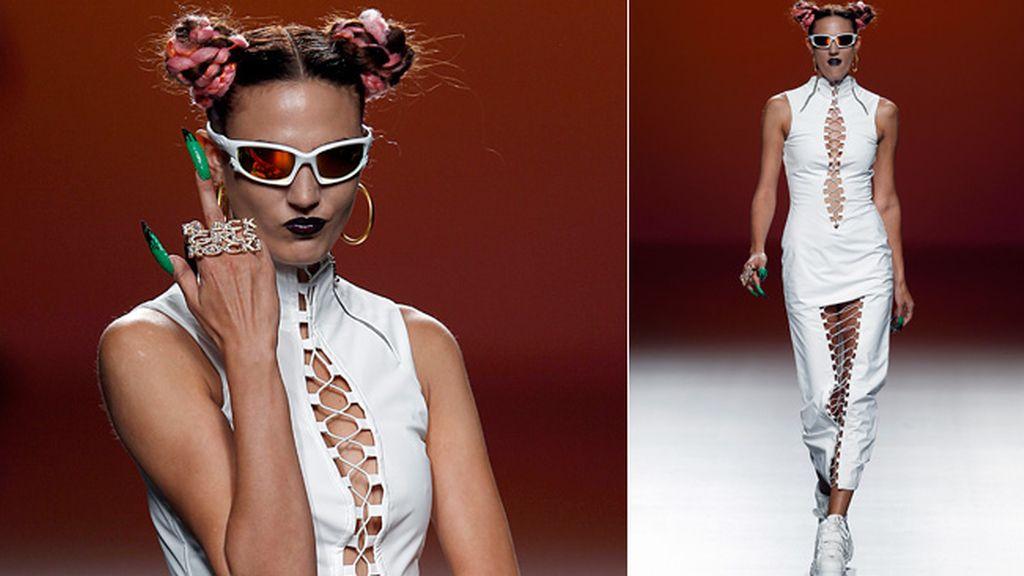 La diseñadora se rinde al 'look tokiota'