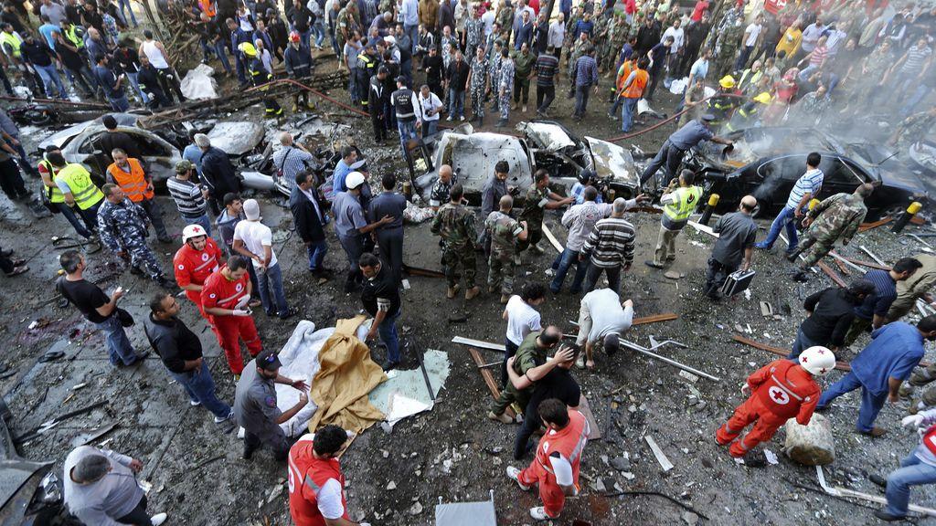 Ataque a la embajada iraní en Beirut