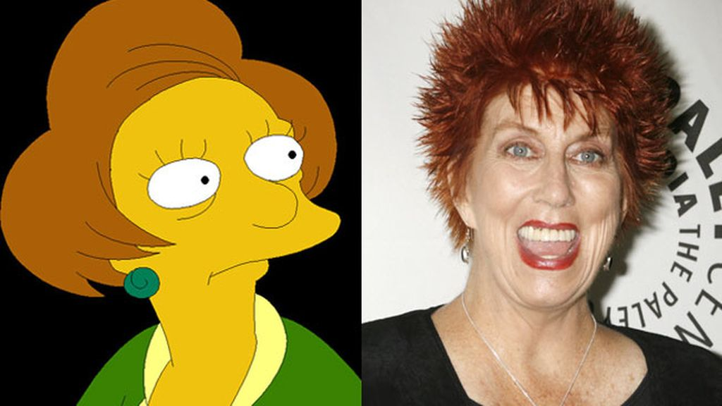 El personaje de 'Los Simpson' Edna Krabappel se queda sin voz