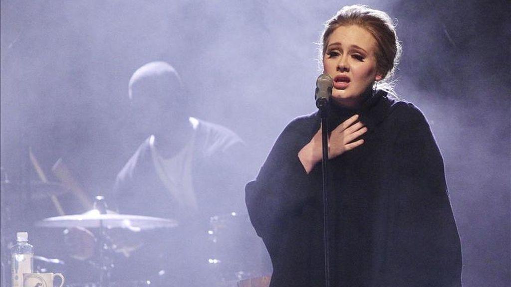 Primera visita de la británica Adele a Madrid. EFE/Archivo
