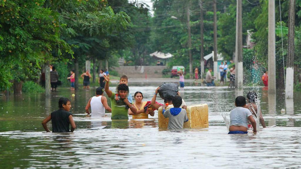Inundaciones en México