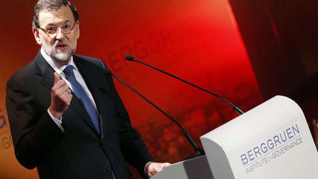 Conferencia de Mariano Rajoy sobre el futuro de Europa