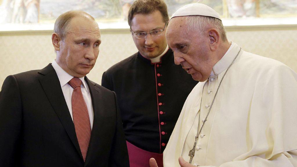 El Papa Francisco recibe a Putin en una audiencia privada