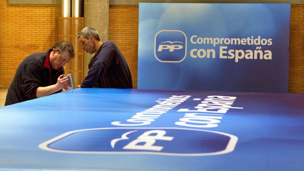 Preparativos para el XVII Congreso Nacional del PP