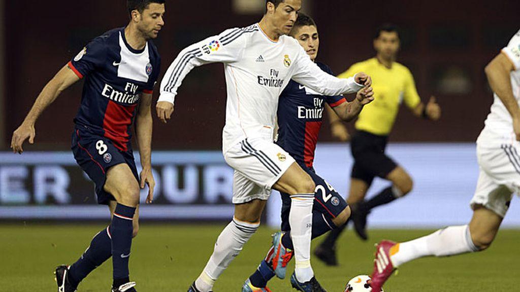 Cristiano tuvo más participación cuando jugó por el centro