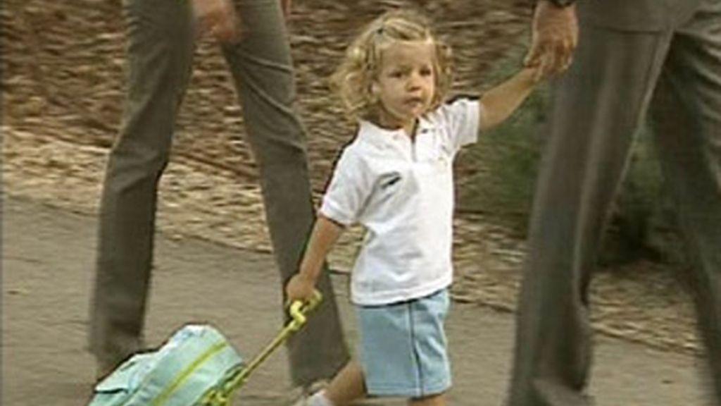 Primer día de colegio de Leonor