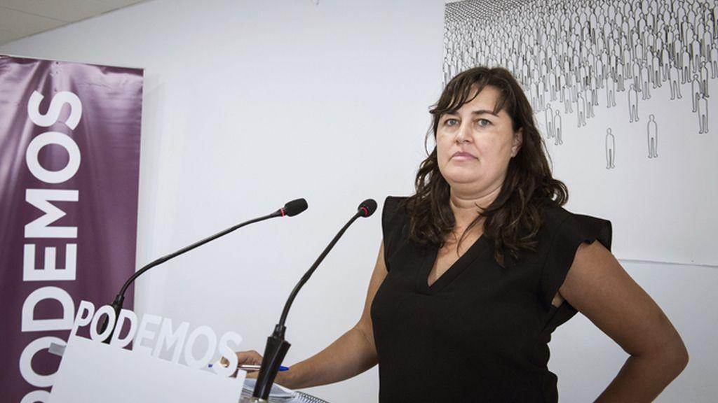 Auxiliadora Honorato, secretaria de Acción Institucional de Podemos