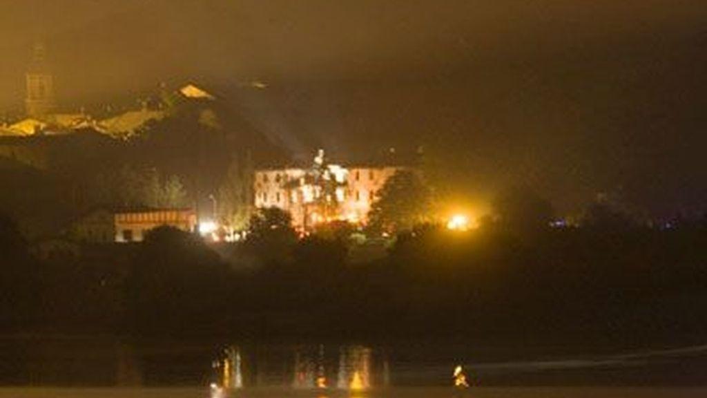 Imagen de Legutiano, provincia de Álava, tras el atentado