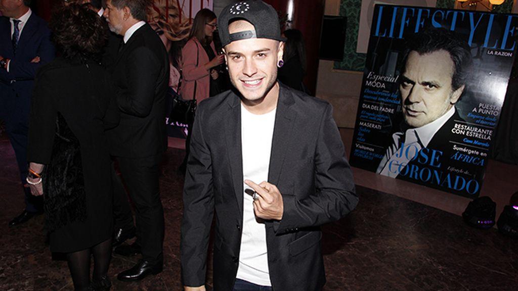 El cantante Adrián Rodríguez