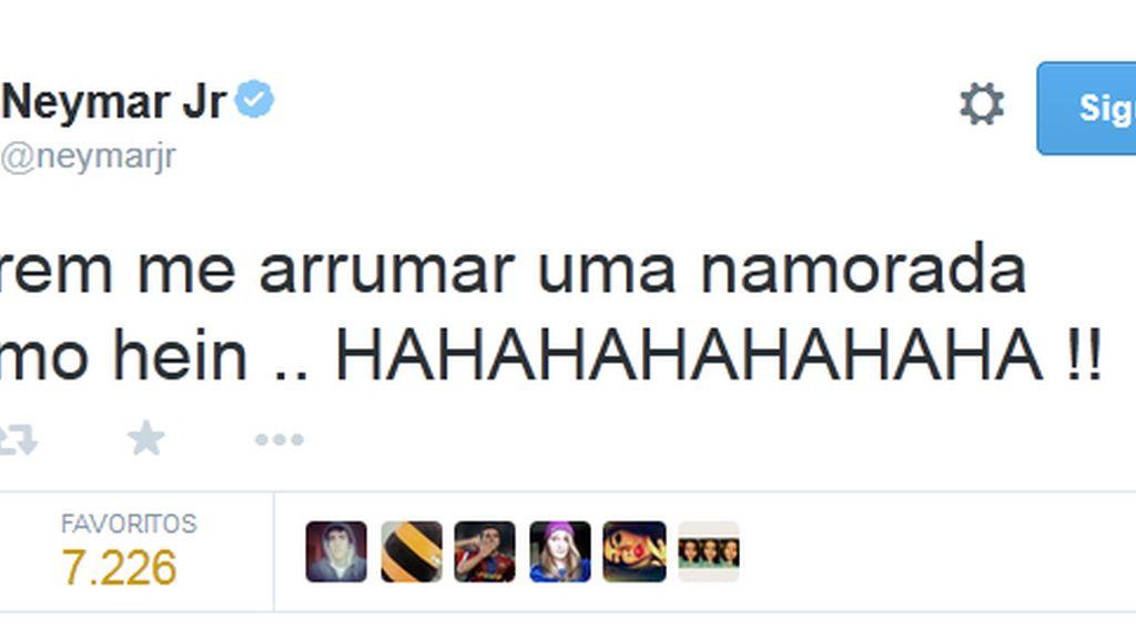 tuit neymar