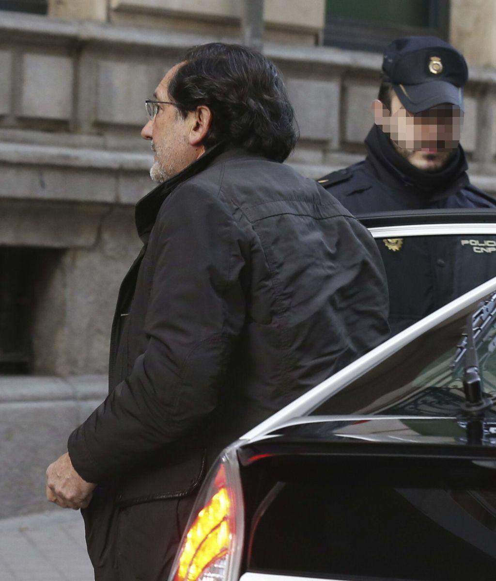 El exconsejero de Caja Madrid José Antonio Moral Santín a su llegada a la Audiencia Nacional