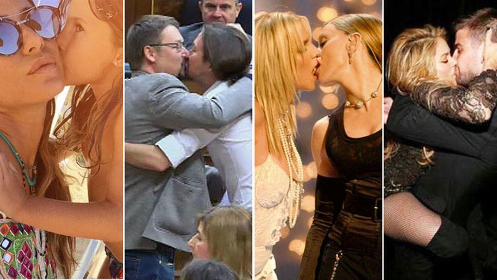 ¿Recuerdas el fogoso beso de Shakira a Piqué? Nosotros sí...