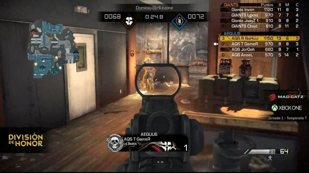 Partido 3, Call of Duty, LVP, T7