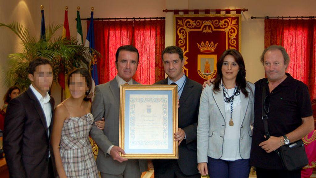 Medalla de oro para Rocío Jurado