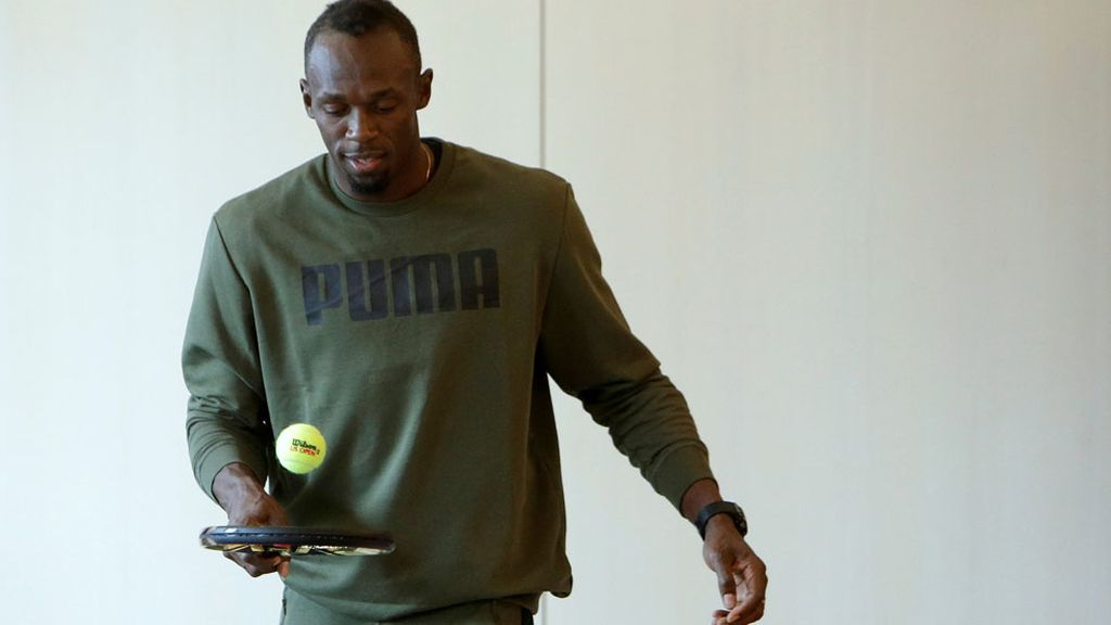 ¿Se cambia al tenis Usain Bolt? (18/05/2016)