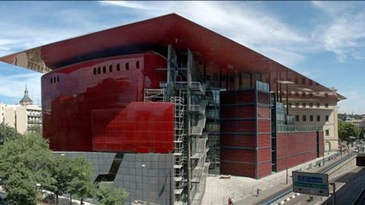 Vista exterior del Museo de Arte Reina Sofía. EFE/Archivo