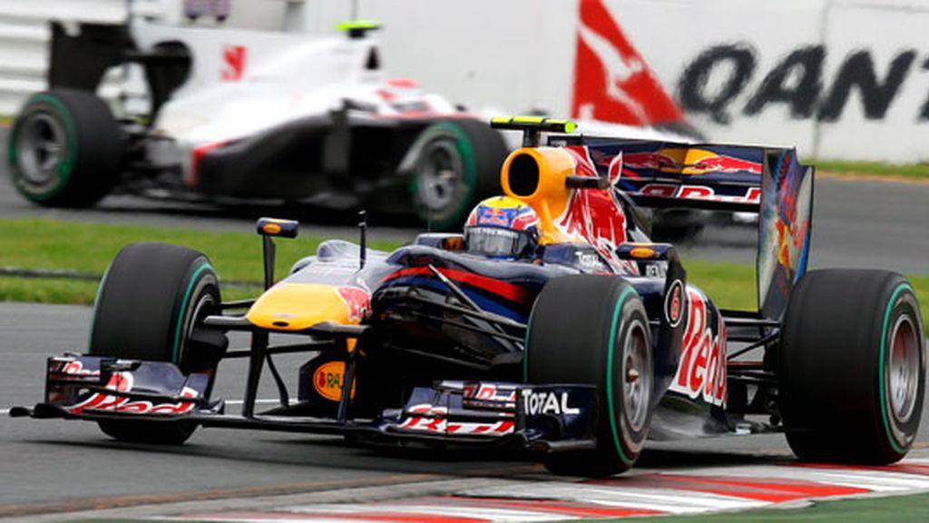 Mark Webber, en los terceros libres