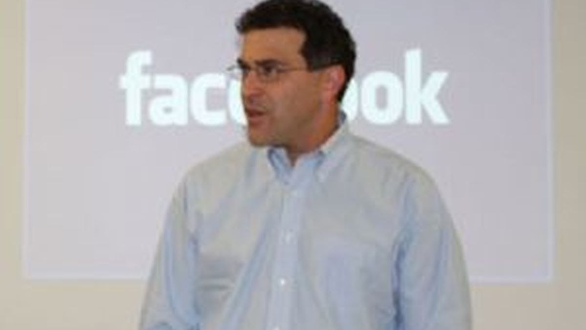 Elliot Schrage, vicepresidente Global de Comunicaciones de Facebook. Foto: Cristina González