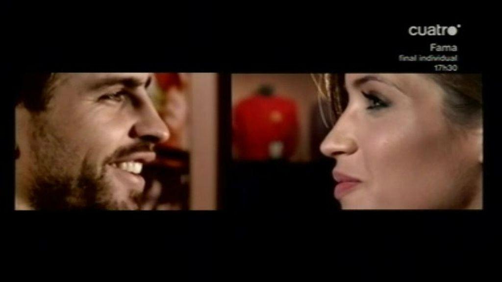 Sara y Piqué: cara a cara