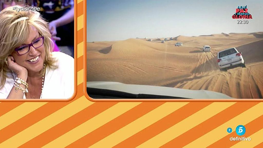 Haciendo rally, posando en el desierto o disfrutando de un lujoso hotel