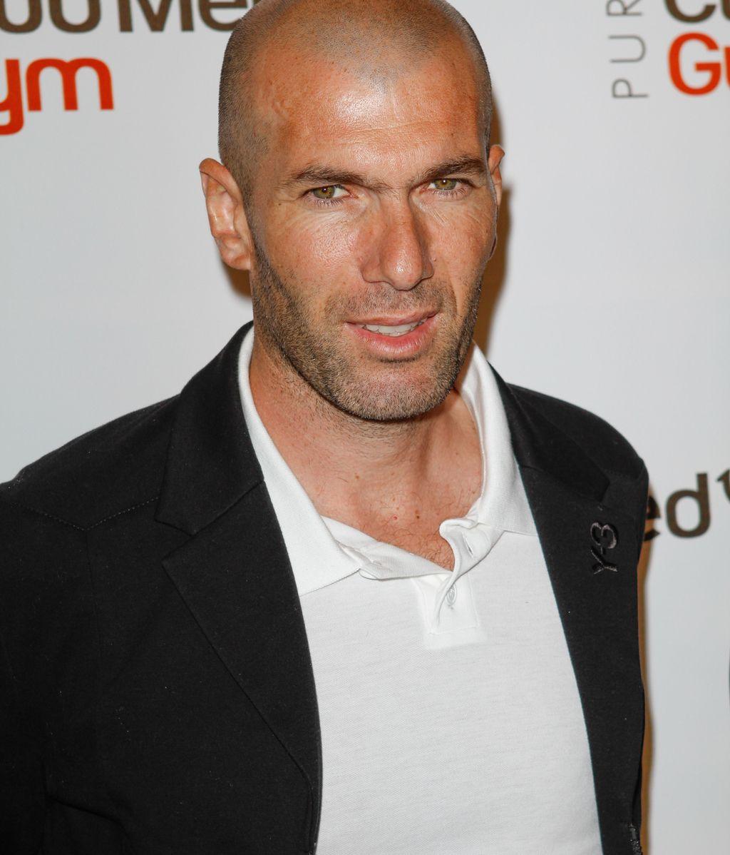Zinedine Zidane en una imagen de archivo