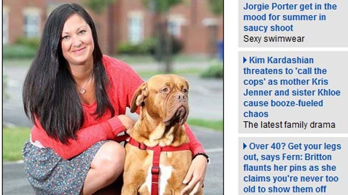 Lo vende todo por eBay para salvar a su perra