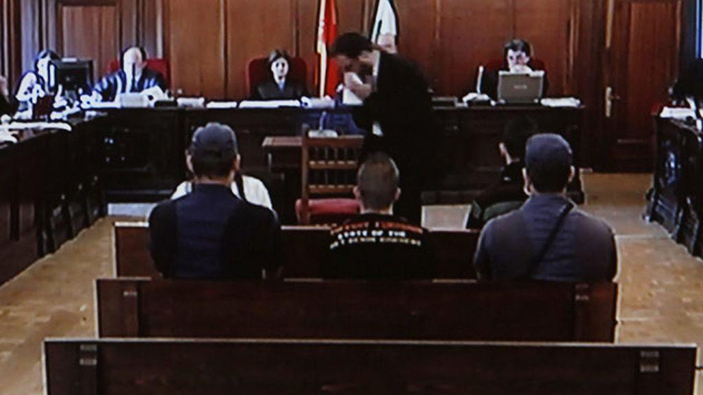 Francisco Javier Delgado, declara ante el juez