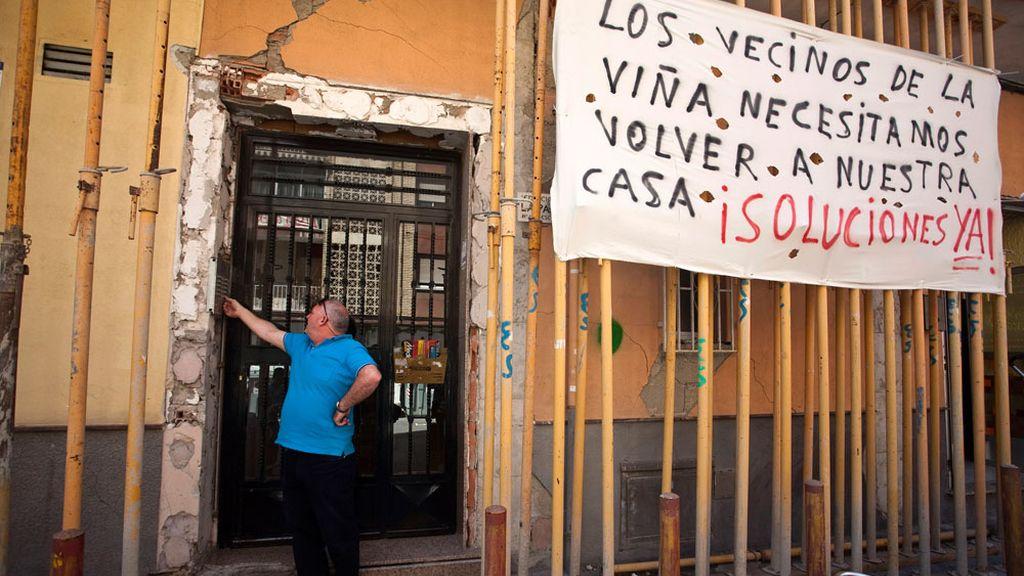 Un años desppués del terremoto los vecinos siguen esperando las ayudas