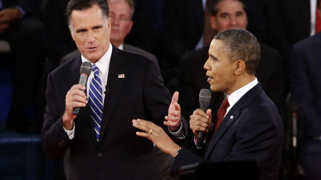 Obama vence el segundo debate electoral con el candidato Mitt Romney