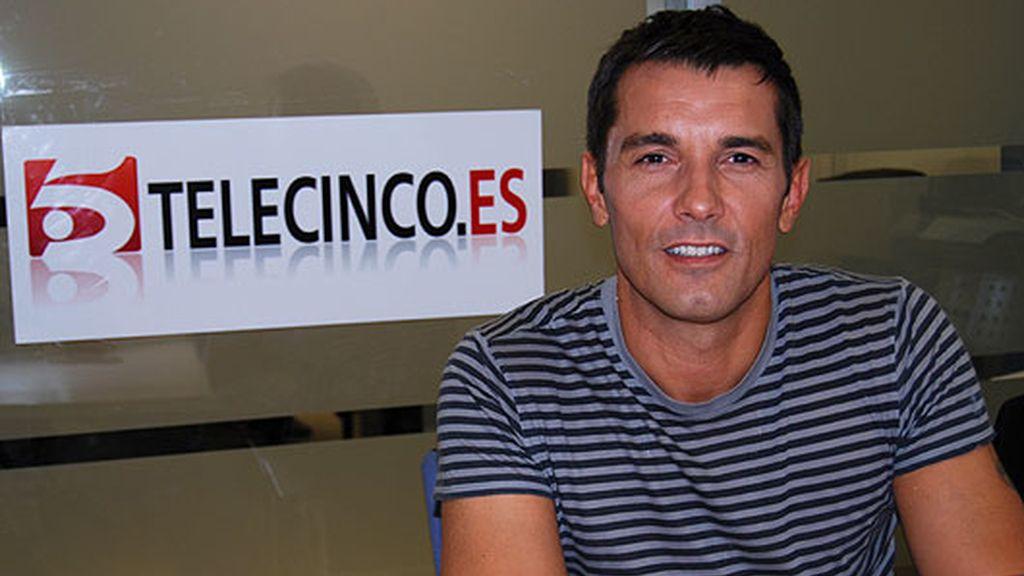 Jesús Vázquez visita telecinco.es