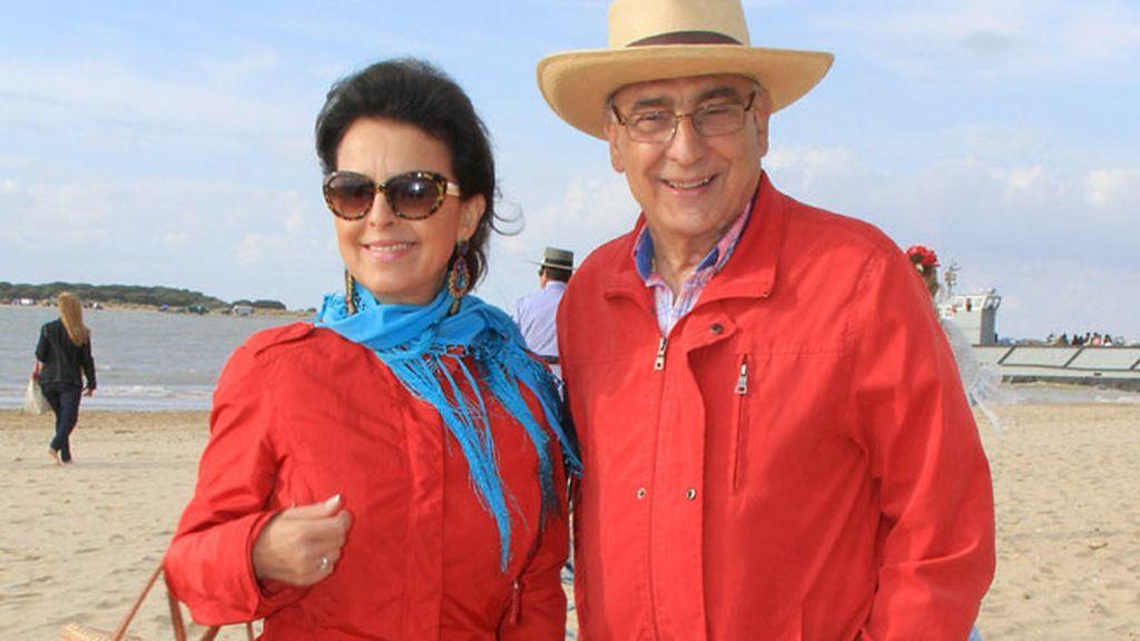 Maria José Santiago acudió acompañada por su marido