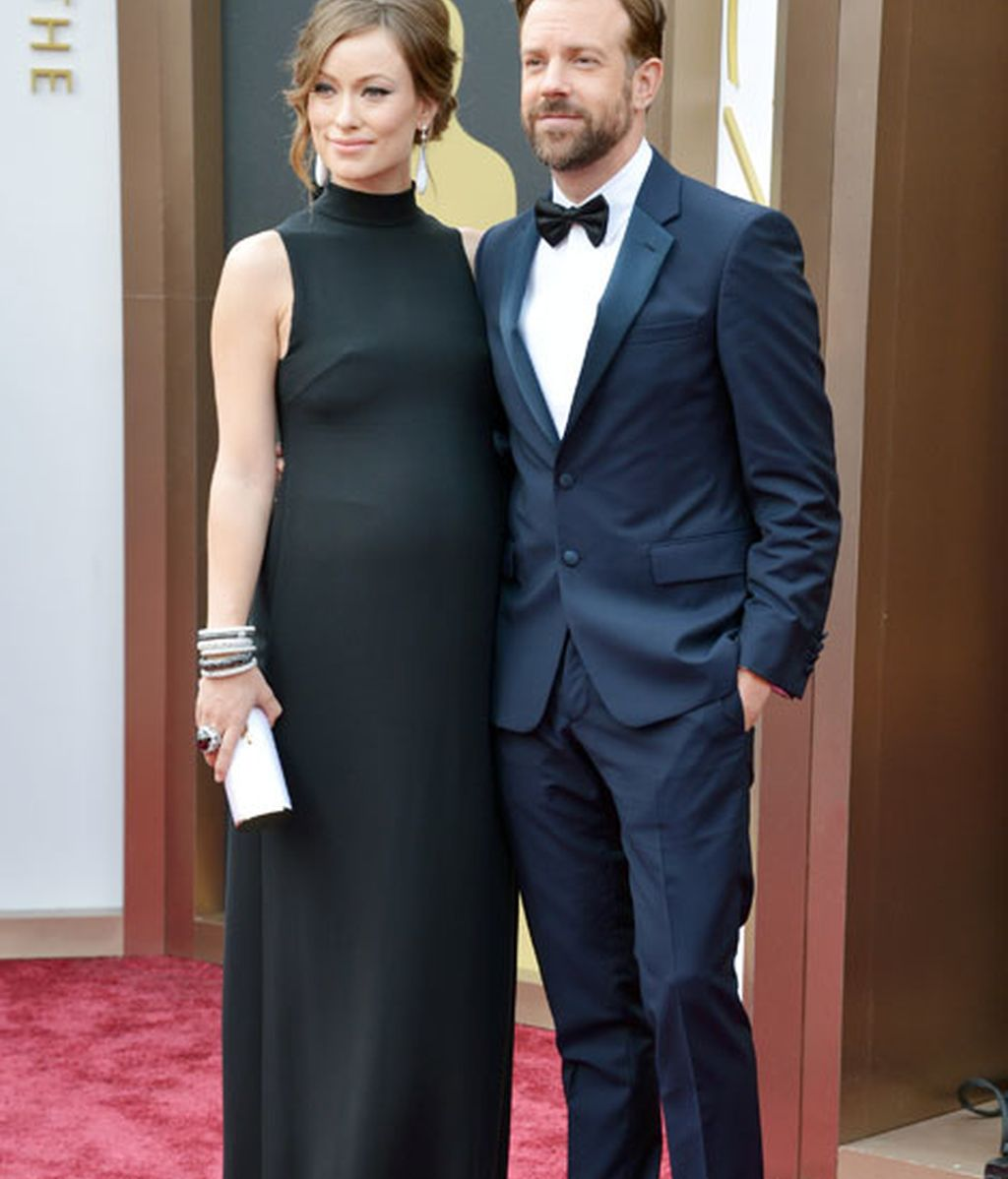 Olivia Wilde y su marido Jason Suderkis, él de Prada