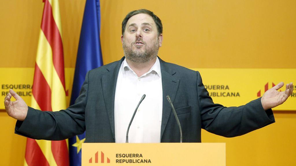 Junqueras pide a CDC y la CUP retomar la negociación para evitar elecciones en marzo